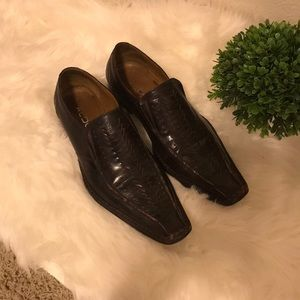 Aldo Shoes - Aldo Brown Men's Loafers Dress Formal Shoe Size 10